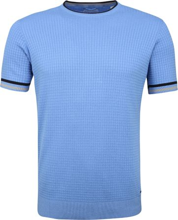 Dstrezzed T-shirt Square Hellblau