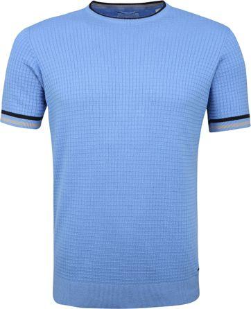 Dstrezzed T-shirt Square Light Blue