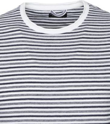 Dstrezzed T Shirt Stripes White