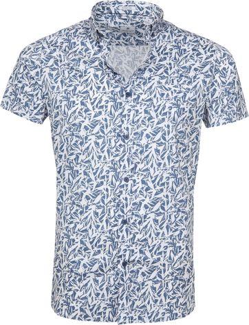 Dstrezzed Wild Leave Hemd Blau