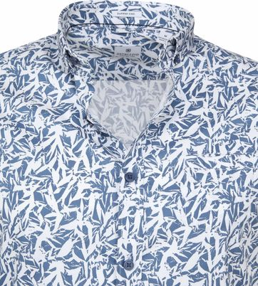 Dstrezzed Wild Leave Overhemd Blauw