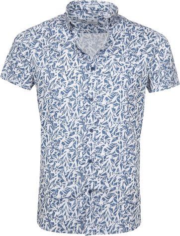 Dstrezzed Wild Leave Overhemd SS Blauw