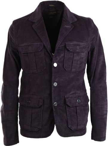 Dstrezzed Worker Blazer Navy