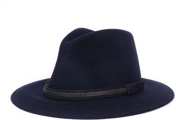Dunkelblau Herren Hut Perle
