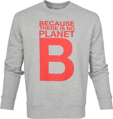 Ecoalf Madeira Sweater Hellgrau