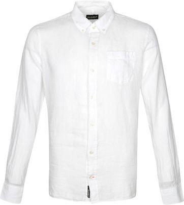Ecoalf Malibi Overhemd Wit