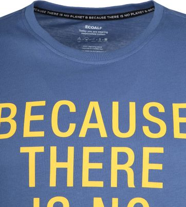 Ecoalf Natal T-Shirt Blau