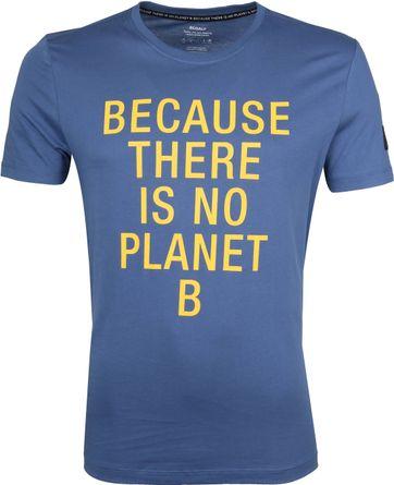 Ecoalf Natal T-Shirt Blauw