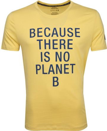 Ecoalf Natal T-Shirt Geel