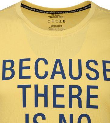 Ecoalf Natal T-Shirt Gelb