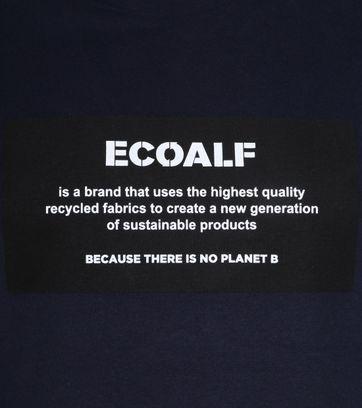 Ecoalf Natal T-Shirt Label Dunkelblau