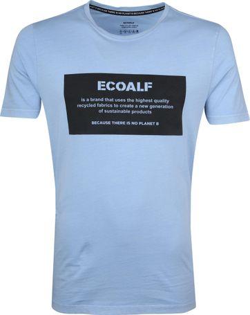 Ecoalf Natal T-Shirt Label Lichtblauw