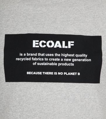 Ecoalf Natal T-Shirt Label Lichtgrijs