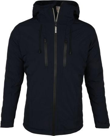 Ecoalf Paris Plain Jacket Dunkelblau