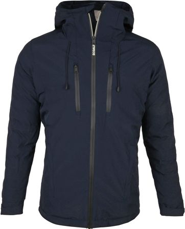 Ecoalf Paris Plain Jacket Dunkelblau