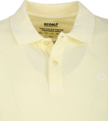Ecoalf Polo Durable Cotton Yellow