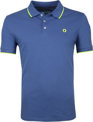 Ecoalf Polo Shirt Sustainable Cotton Blue