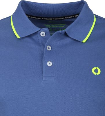 Ecoalf Polo Shirt Sustainable Cotton Blue