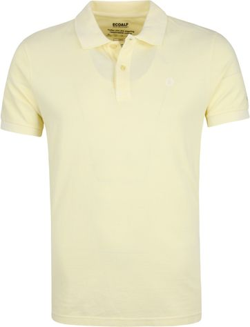 Ecoalf Polo Shirt Sustainable Cotton Yellow