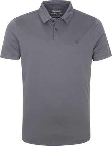 Ecoalf Polo Shirt Theo Dark Grey