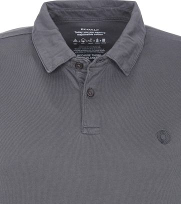 Ecoalf Polo Shirt Theo Dark Grey
