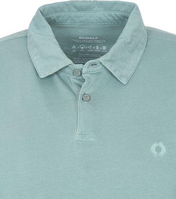 Ecoalf Polo Shirt Theo Turquoise