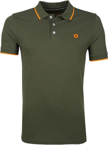 Ecoalf Polo Sustainable Cotton Khaki