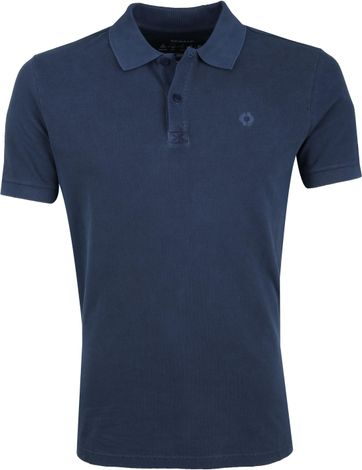 Ecoalf Polo Sustainable Cotton Navy