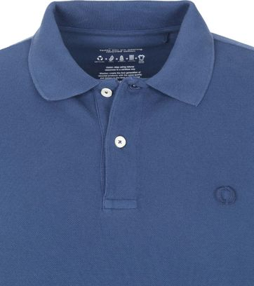 Ecoalf Polo Ted Donkerblauw