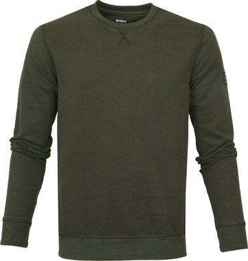Ecoalf San Diego Sweater Green