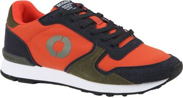 Ecoalf Sneaker Yale Oranje