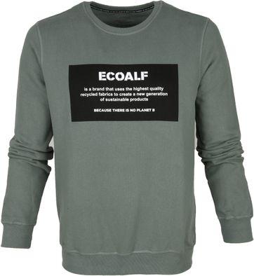 Ecoalf Sweater Khaki Groen