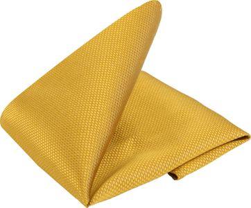 Einstecktuch Gelb