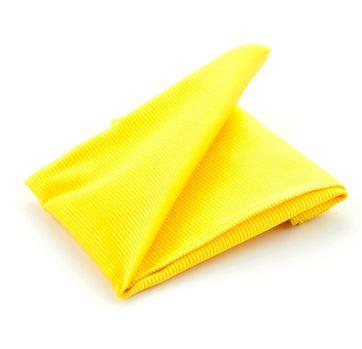 Einstecktuch Seide Gelb F70