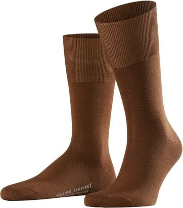Falke Airport SO Socks Brown