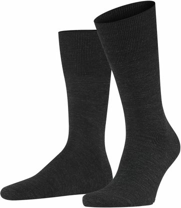 Falke Airport Sock Dark Grey 3080