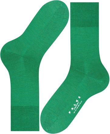 Falke Airport Sock Green Golf 7408