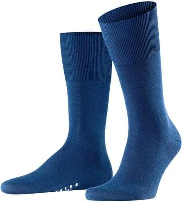 Falke Airport Socke Blau