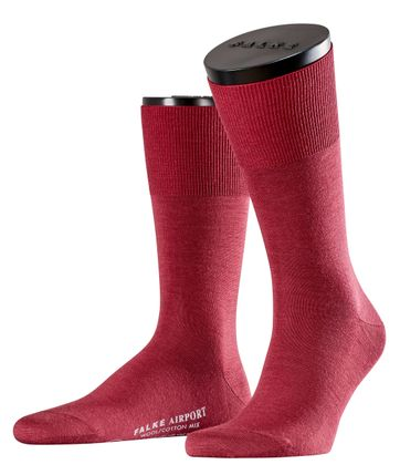 FALKE Airport Socken Bordeaux 8185