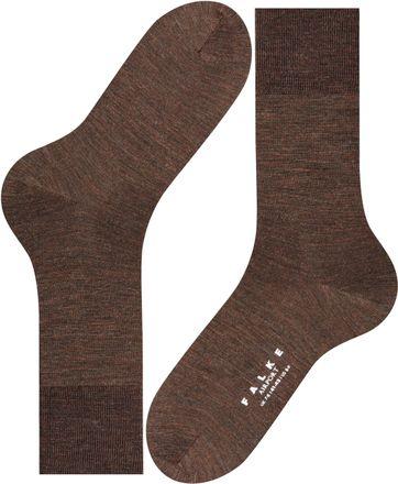 FALKE Airport Socken Braun 5450
