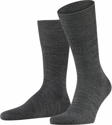 FALKE Airport Socken Grau 3070