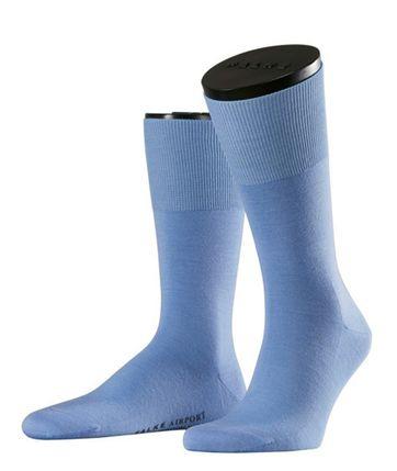 FALKE Airport Socken Hellblau