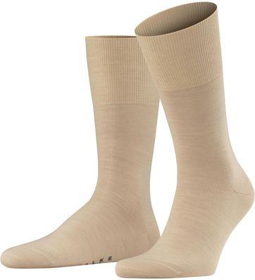 FALKE Airport Socken Sand 4320