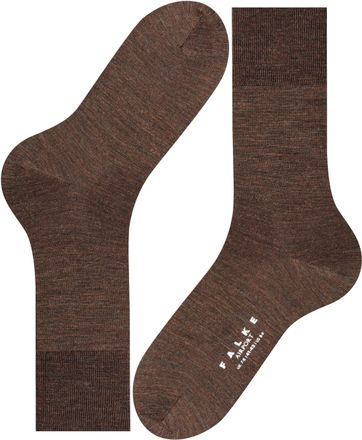 Falke Airport Socks Brown 5450