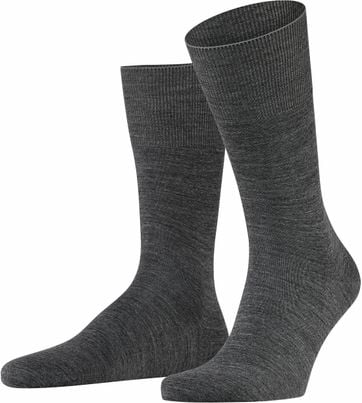 Falke Airport Socks Grey 3070