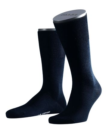 Falke Airport Socks Navy 6370