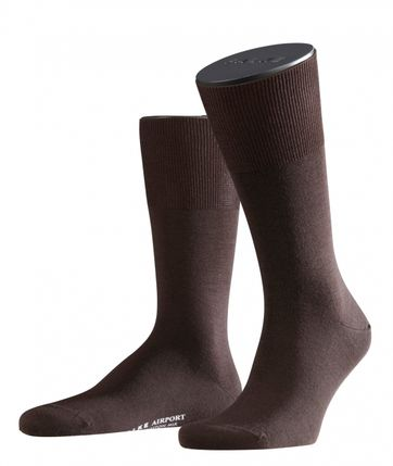 Falke Airport Sok Brown 5930