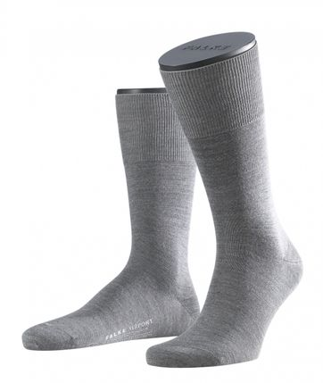 Falke Airport Sok Grey 3070