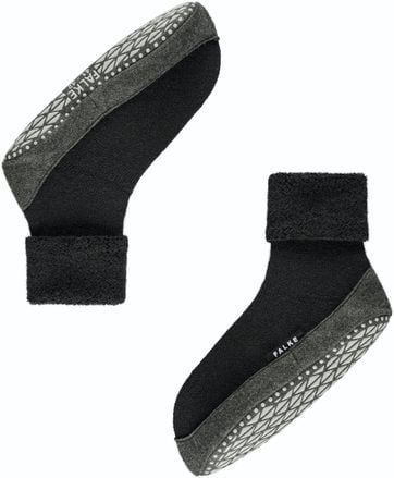 Falke Cosyshoe SLippers Black