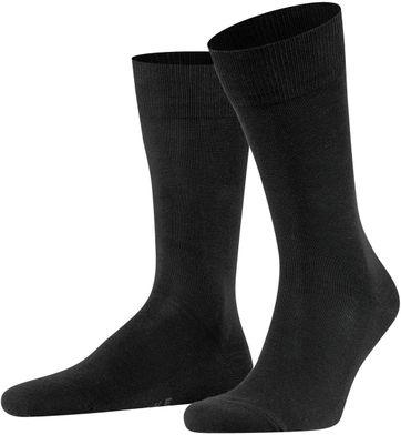 FALKE Family Socken Schwarz 3000